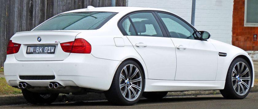 2008–2010 BMW M3 (E90) saloon (Australia)