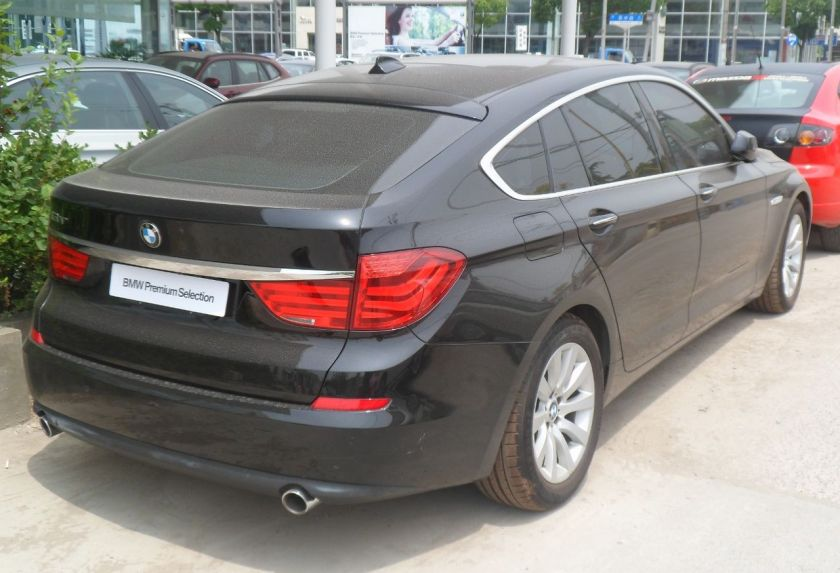 2009 BMW 5-Series F07 GT 02 China