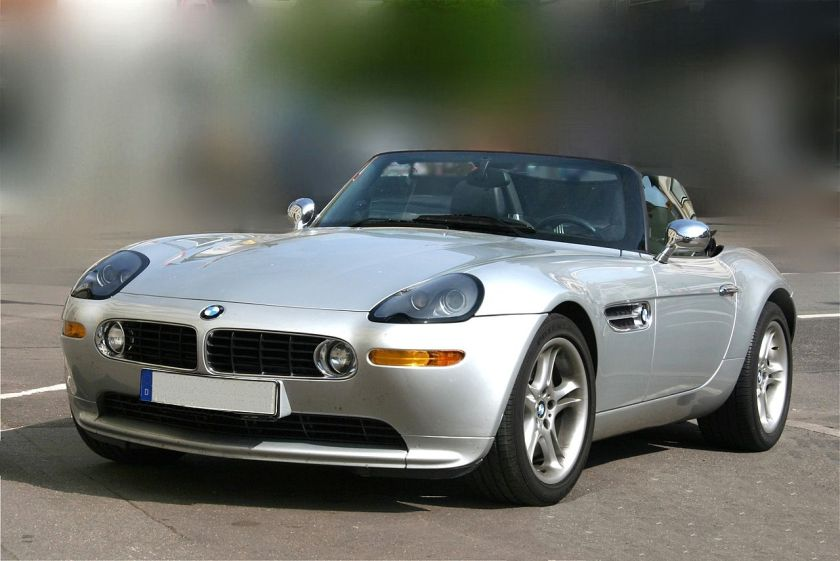 2009 BMW Z8 Front inspired on 507