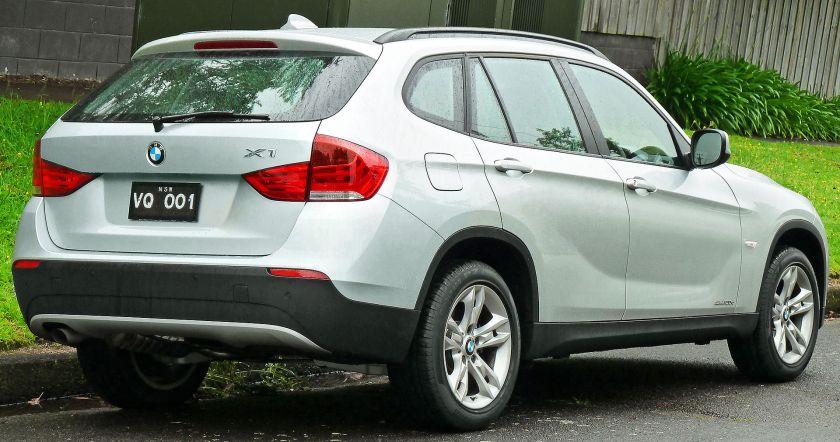 2010-2011 BMW X1 (E84) sDrive20d wagon 02 Pre facelift Australia