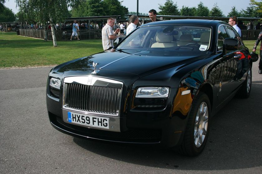 2010 Rolls-Royce Ghost the new 'baby' Rolls