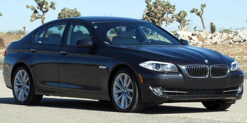 2011 BMW 535i NHTSA 2 USA