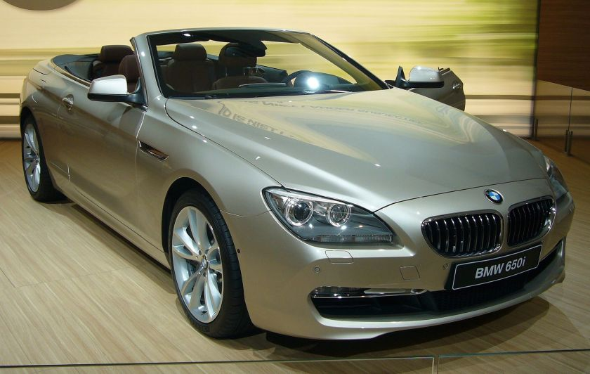 2011 BMW 6 1