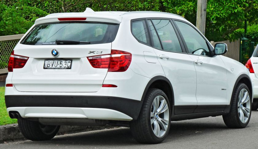 2011 BMW X3 (F25) xDrive28i wagon 02