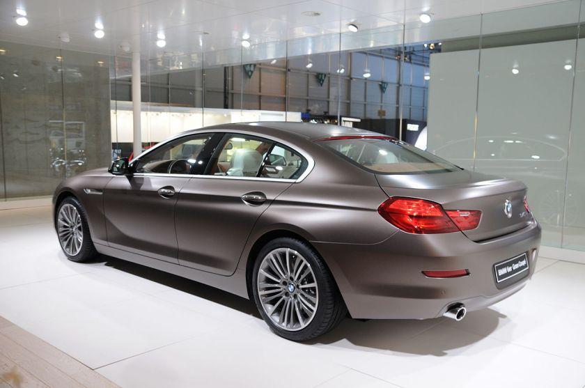 2012 BMW 6 Motorshow Geneva 4430