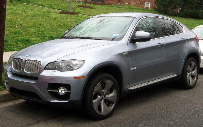 2012 BMW X6 hybrid