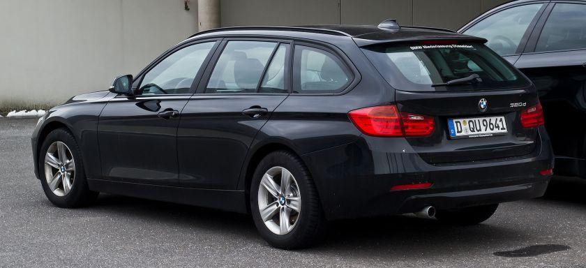 2013 BMW 320d Touring (F31) Heckansicht