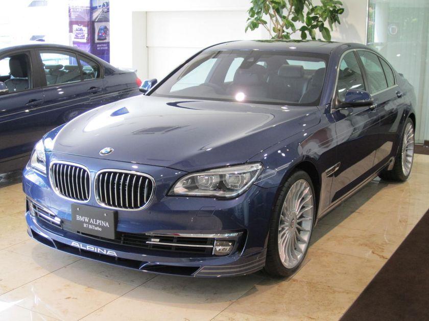 2013 BMW B7 Alpine Limousine