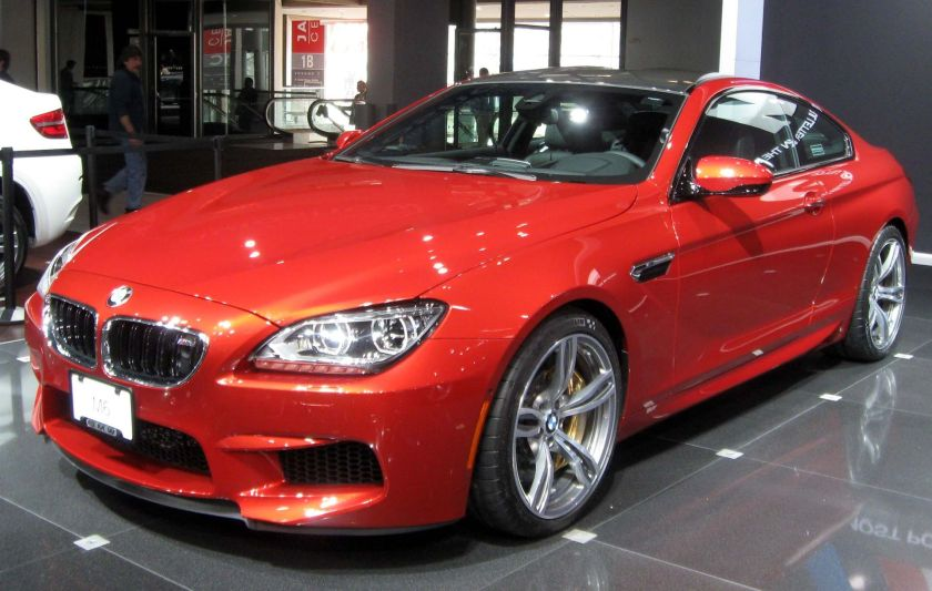 2013 BMW M6 coupe NYIAS