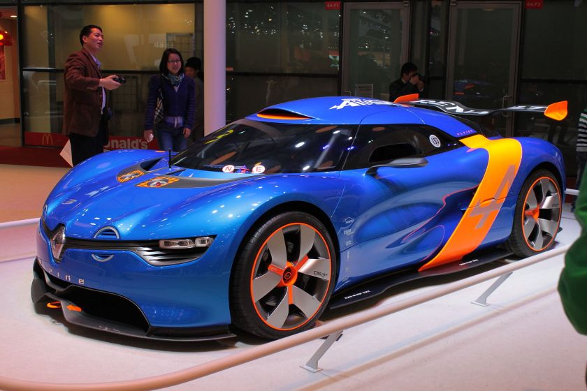 2013 Renault Alpine A110-50 at Auto Shanghai 2013