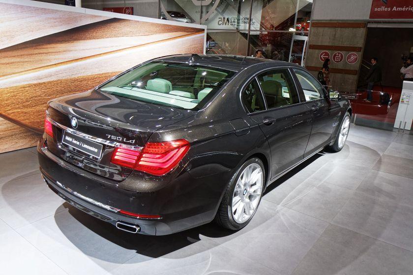 2014 BMW 750Ld Serie 7 Limousine