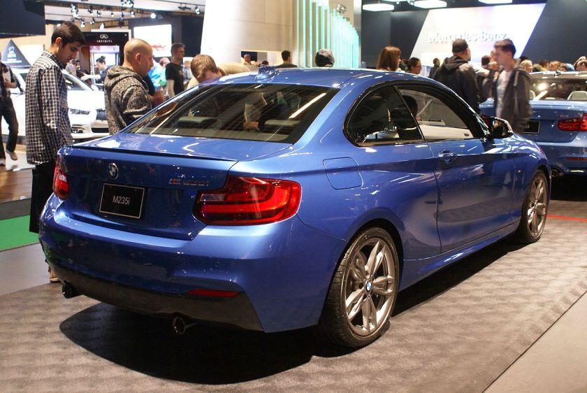 2014 BMW M235i (F22) rr