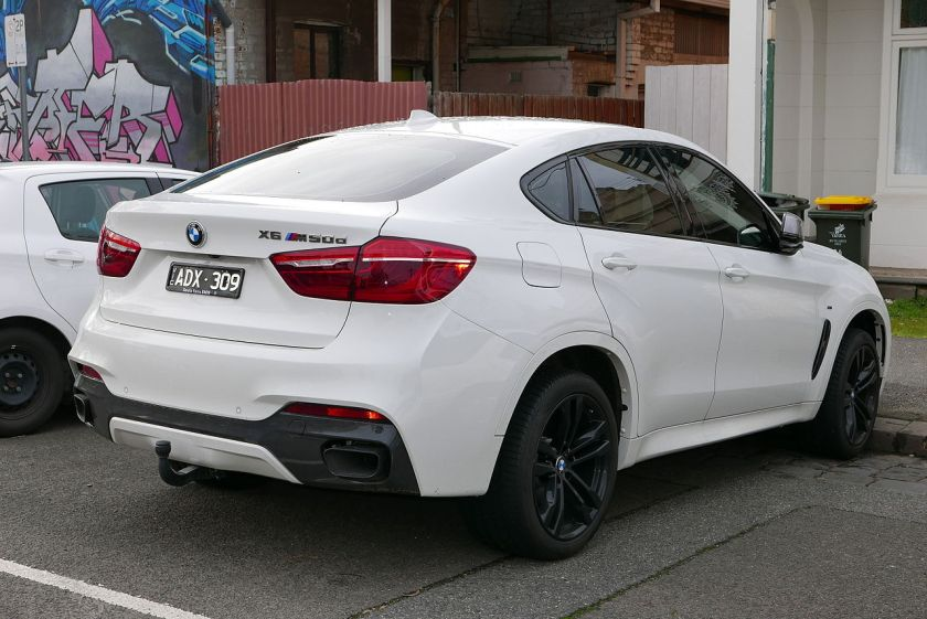 2014 BMW X6 (F16) M50d wagon 02