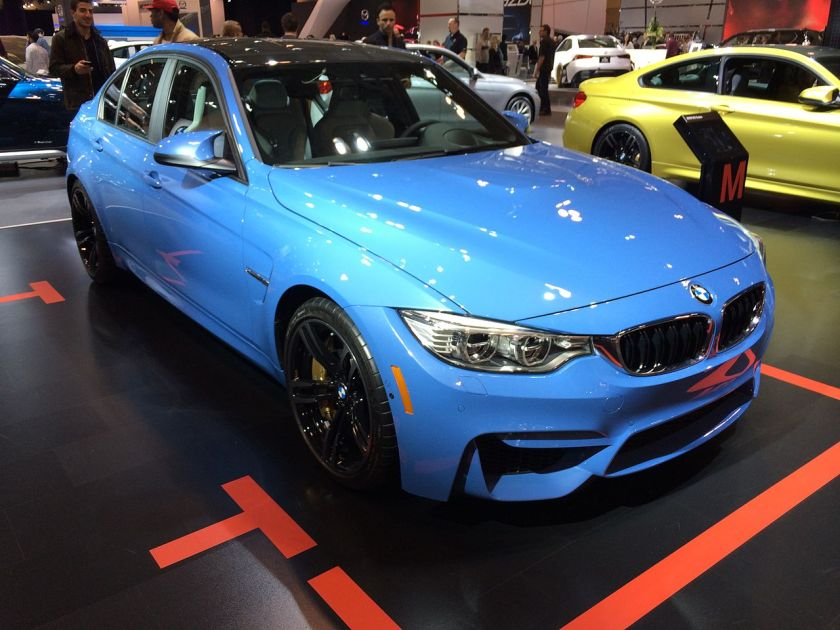 2014 BMW_F30_M3_at_the_2014_Toronto_Auto_Show