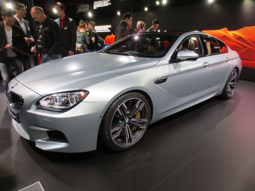2014 MY BMW M6 gran coupe