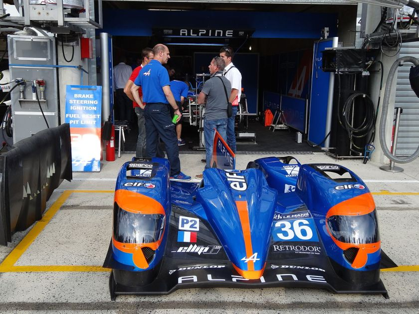 2014 Signatech Alpine A450b-Nissan Le Mans 2014