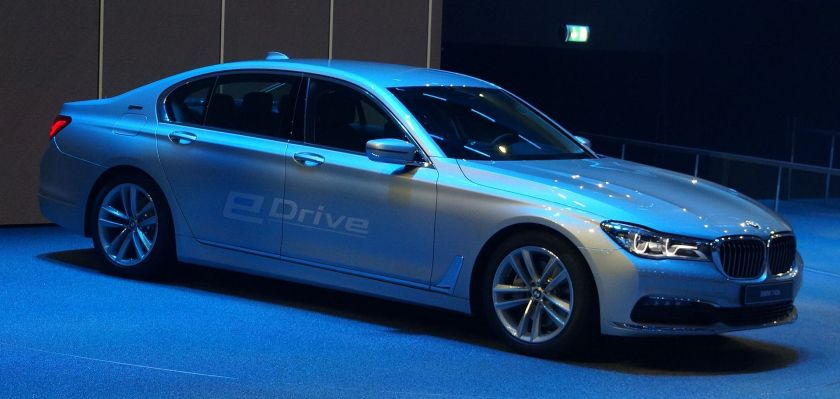 2015 BMW G11-G12 eDrive