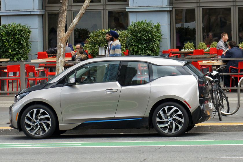 2015 BMW i3 in San Francisco