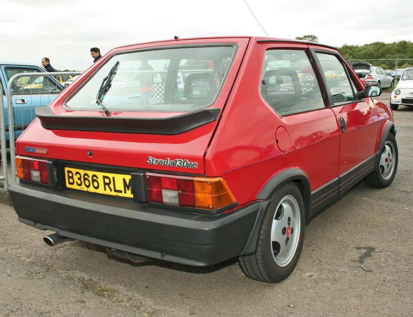 A third-series Fiat Strada Abarth 130 TC