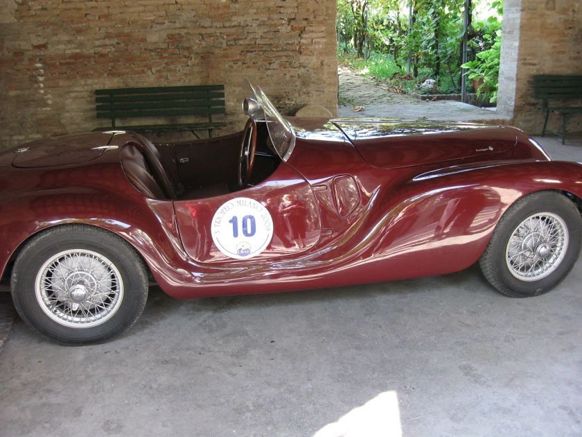 AAC tipo 815 at the Panzano Castle 2009