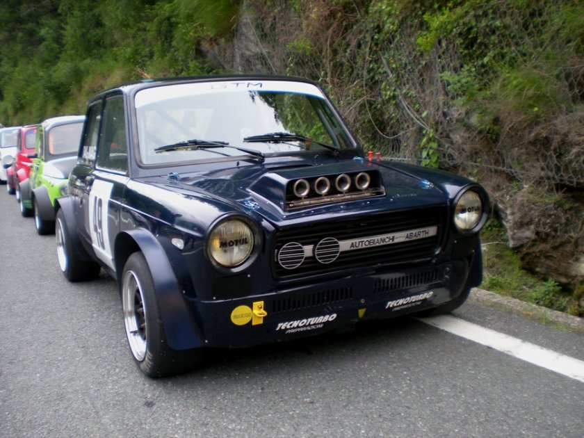 Autobianchi A112 Abarth by franco-roccia