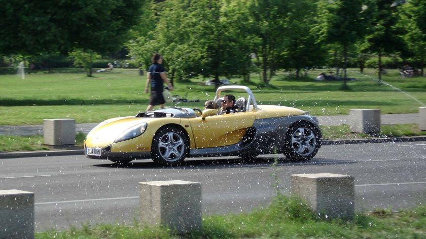 Barchetta-style Renault Spider 1st Gen
