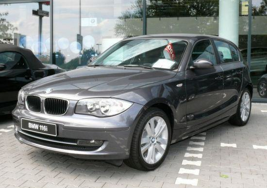 BMW 1 series 5 door E87 facelift front