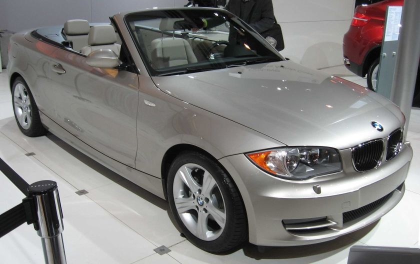 BMW 1 Series Convertible (E88)
