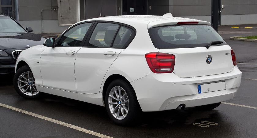 BMW 118i Urban Line (F20)Heckansicht
