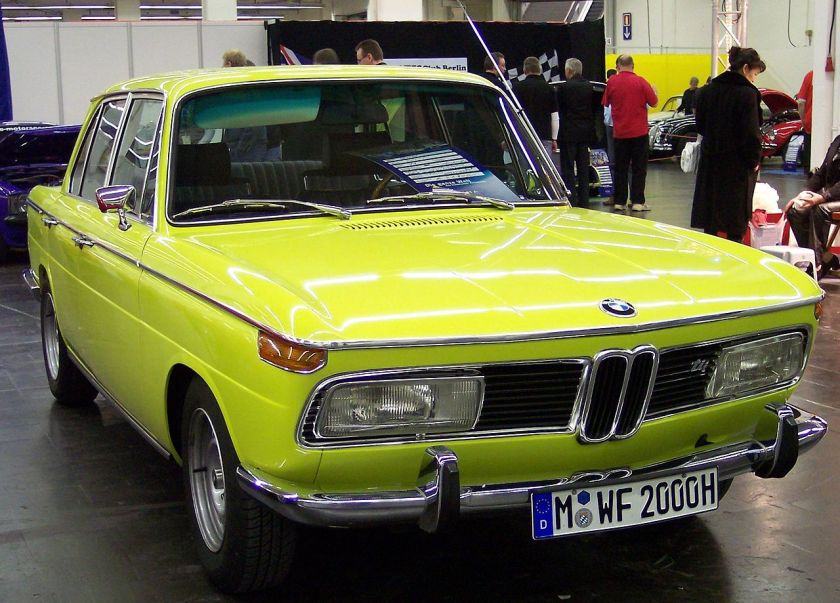 BMW 2000 tii vr neonyellow TCE