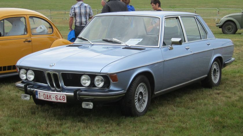 BMW 2800 (E3) New Six sedan-saloon