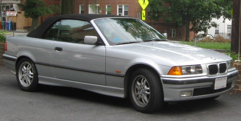 BMW 3-Series convertible E36