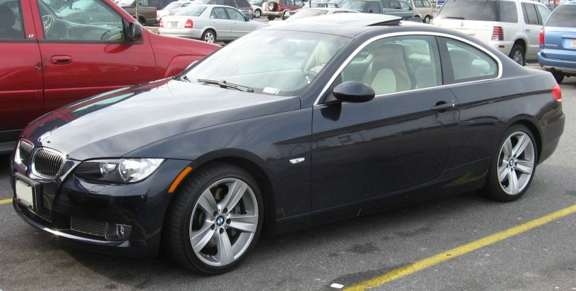 BMW 3 Series Coupe (E92) 2007-BMW-335i-coupe
