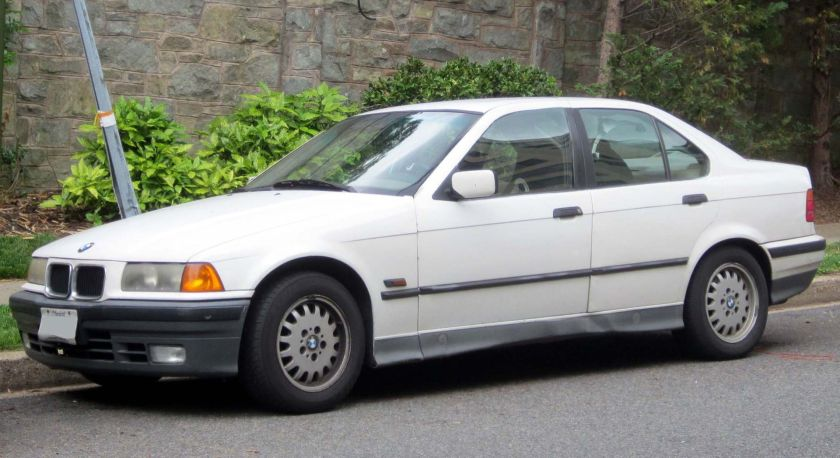 BMW 3-Series E36 sedan USA