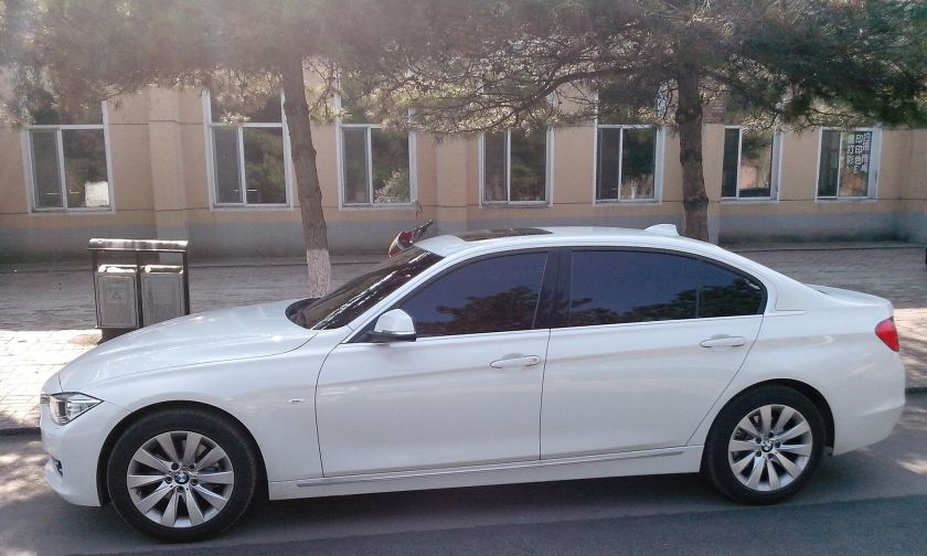 BMW 3 Series (F35), side view long wheelbase