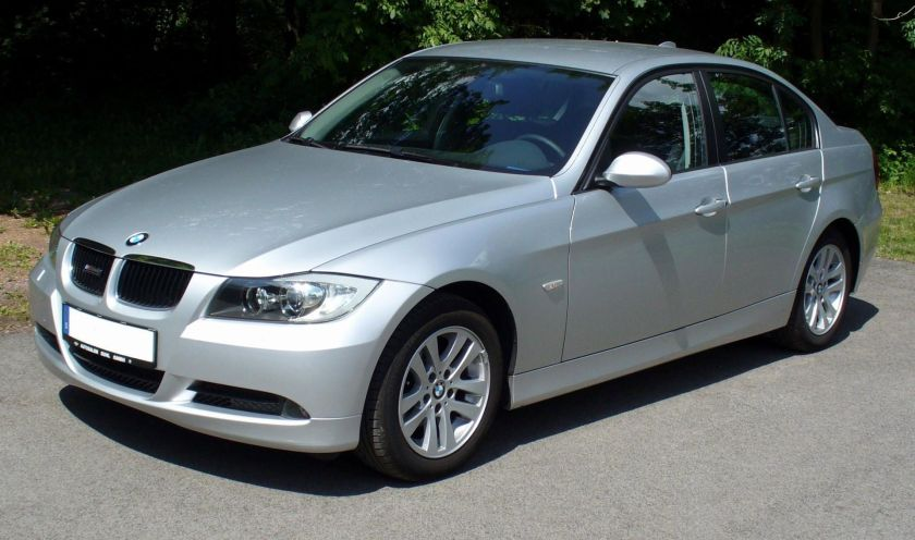 BMW 3 Series Sedan (E90) Limousine 07