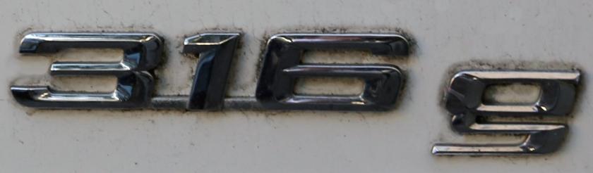 BMW 316g logo