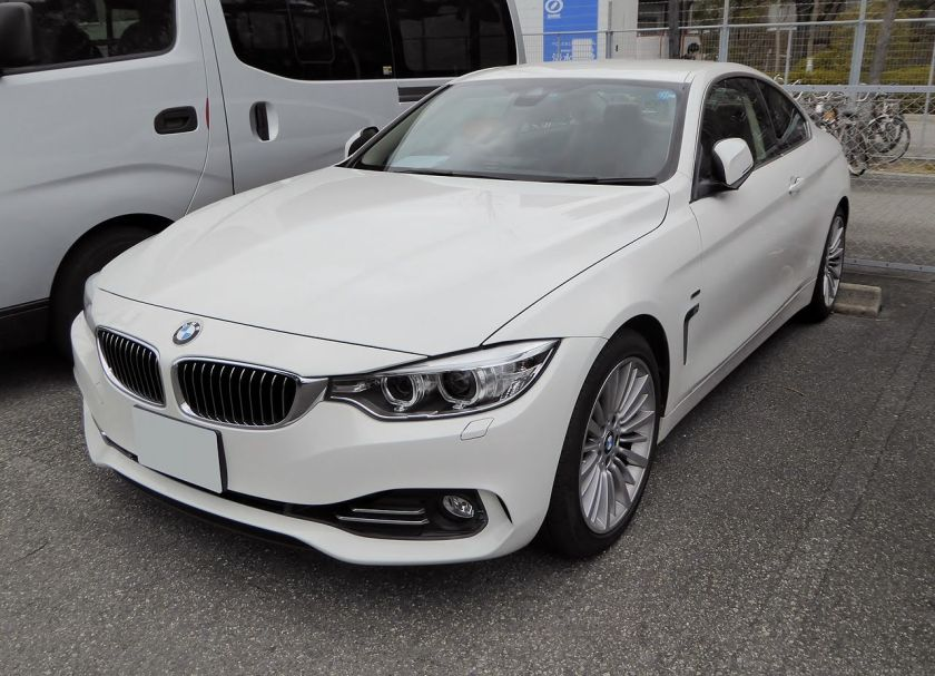 BMW 420i Coupé Luxury (F32) front