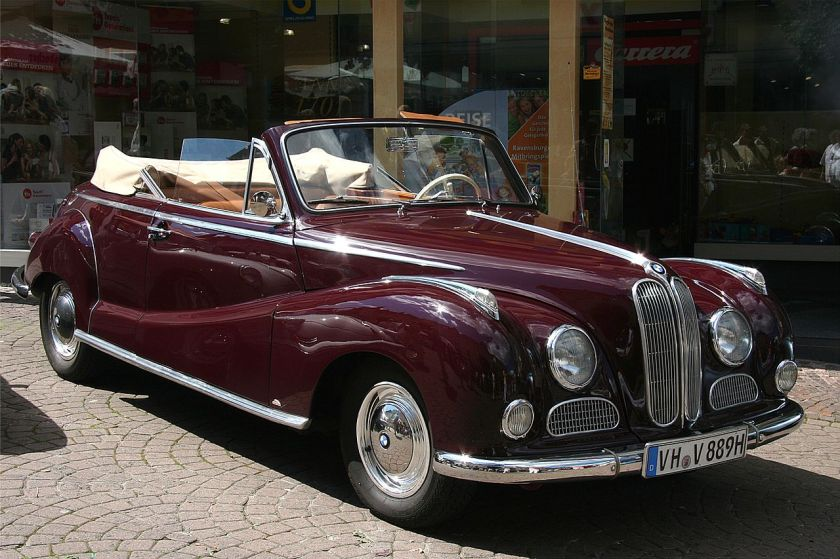 BMW 502 cabriolet by Baur