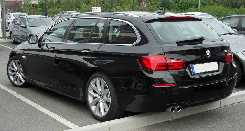BMW 520d Touring (F11) rear