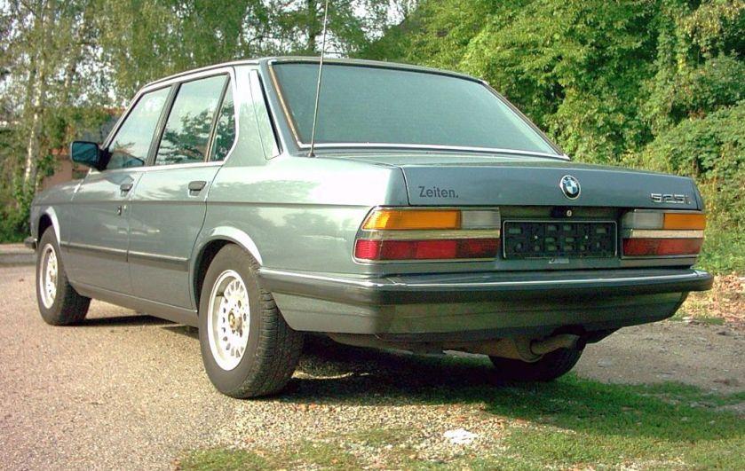 BMW 525i E28 02