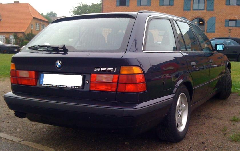 BMW 525i Edition Heck