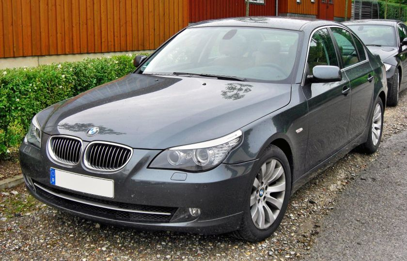 BMW 530i (E60) Facelift front