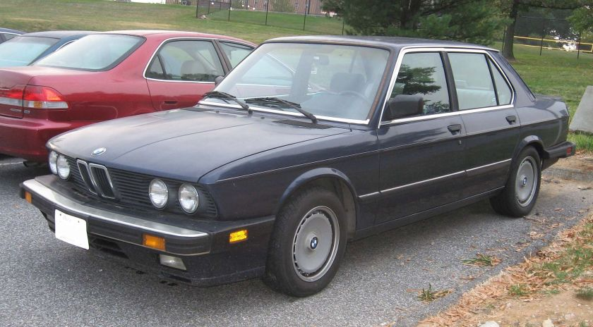 BMW 535is E28 USA