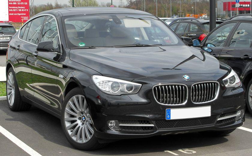 BMW 5er GT frontjpg