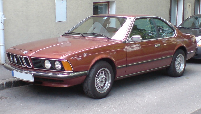 BMW 633 CSi E24 Front-Side