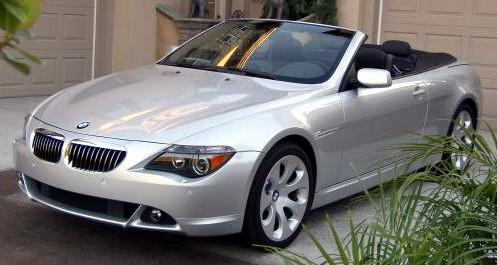 BMW 645Ci Convertible 2004 (E64) Bmw 645ci
