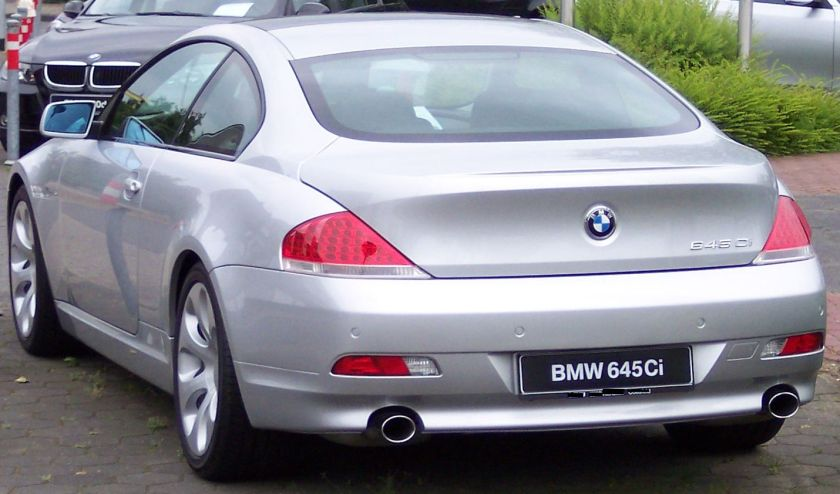 BMW 645Ci Coupe 2004 (E63)
