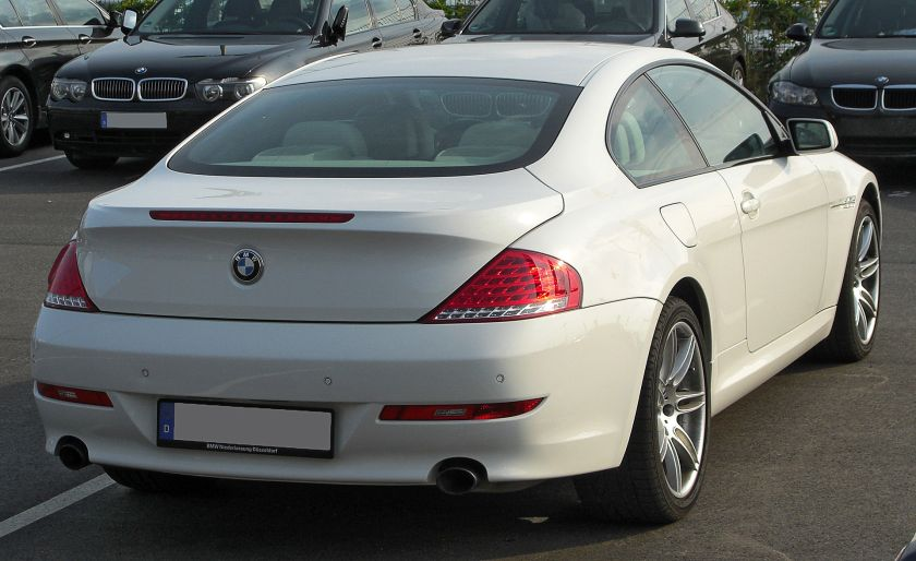 BMW 650i 6er Coupé (E63) Facelift rear