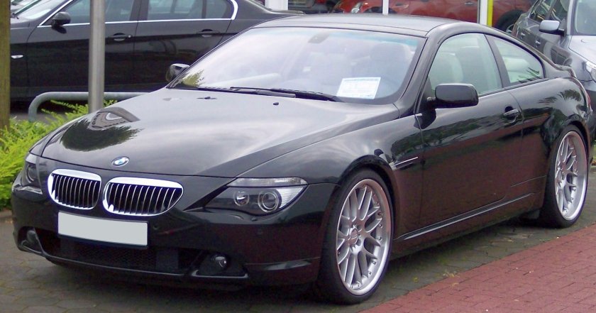 BMW 650i Coupe 2008 (E63)